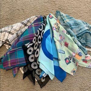 Scarfs - bundled 6 scarfs